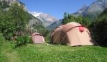 campsite Camping Caravaneige Les Lanchettes Savoie