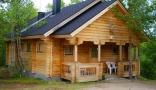 campsite Ounasloma Luxury Cabins