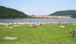 campsite Lake Curwensville Recreation Area