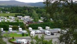 campsite Grantown on Spey Caravan Park