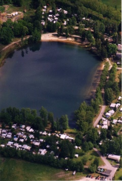 campsite camping park silbersee