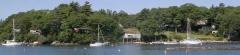 campsite Harborfields Cottages Inc