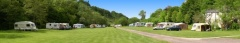 campsite Exe Valley Caravan Site