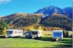 campsite Camping Madulain