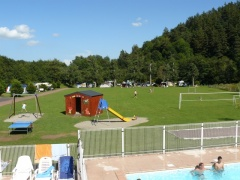campsite Camping Les Bombes