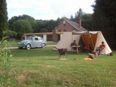 campsite camping de la Cascade