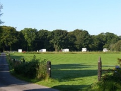 campsite Caravans at Highfield