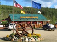 campsite Chicken Gold Camp