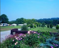 campsite Woodlands Grove Caravan & Camping Park