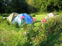 campsite camping lecleuziou