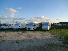 campsite Aire Camping Cars Le Bistrot à Crêpes