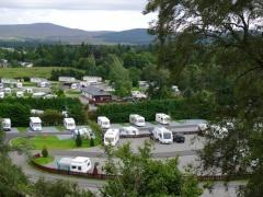 campsite Grantown on Spey Caravan Park