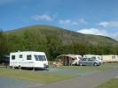 campsite Bryn Gloch Caravan and Camping Park