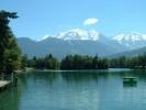 campsite Mont Blanc Plage