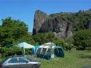 campsite camping lesescargotsbleus